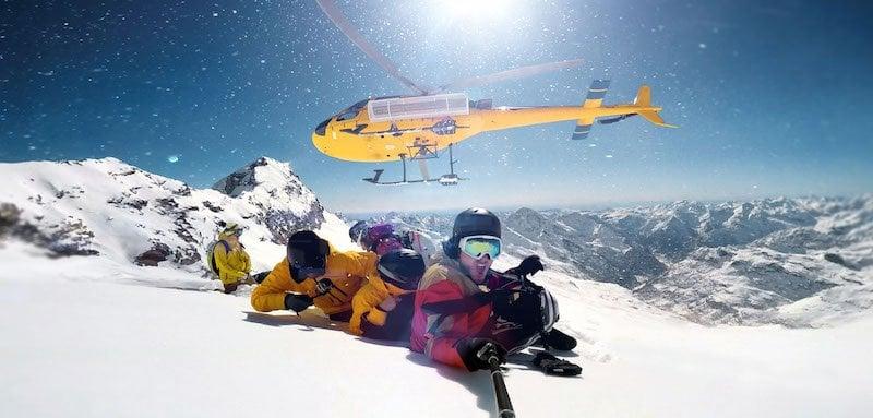 Helikopter ski Slopetrotter
