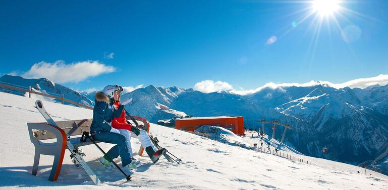 Bad Gastein Skiferie med børn i Østrig