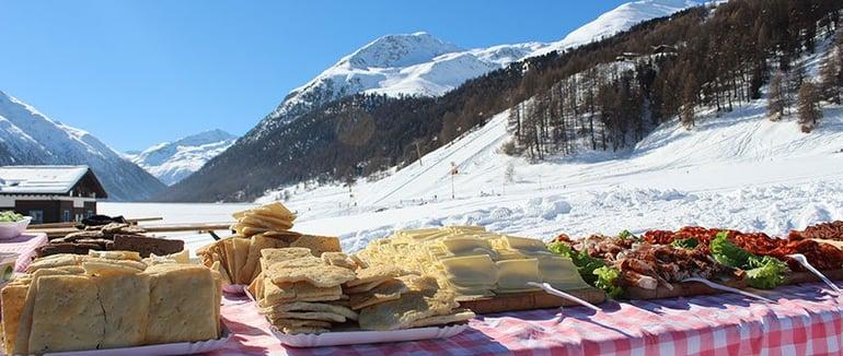 Livigno picknick