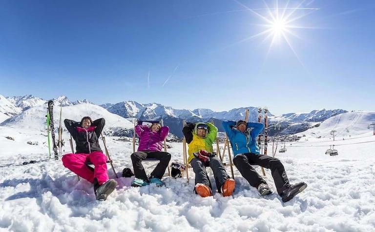 Sol Alpe dHuez Afslapning